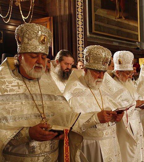Elder titov and patriarch smith